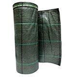 Bâche de Paillage Vert vichy vert en polypropylène indéchirable 20 x 4,20 m