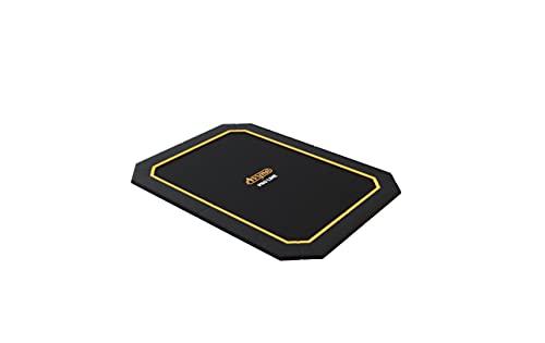 SOLO TRAMPOLINO Tappeto elastico interrato rettangolare 305x225cm - nero. A livello del terreno, facilmente accessibile. Garanzia a vita sul telaio