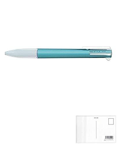 三菱鉛筆 スタイルフィット5色ホルダUE5H258Mブルー 【× 7 本 】 + 画材屋ドットコム ポストカードA