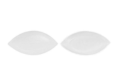 Sodacoda Silikon BH Einlagen 140g/Paar - Kleine Weiche Wohlfühl Push-Up Brust-Einlagen für BH, Badeanzug und Bikini - Transparent