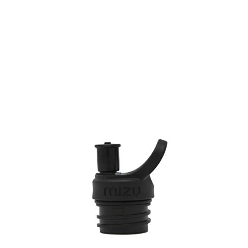 Mizu Life Sports Cap Trinkflasche, Black, One Size