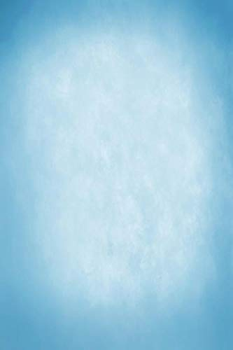 Azul Claro Degradado Color sólido Superficie de la Pared fantasía bebé patrón fotografía Fondo Foto telón de Fondo Estudio fotográfico A29 10x10ft / 3x3m