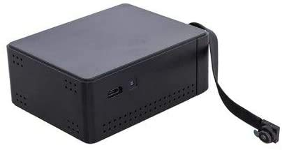 Camscura Black Box Micro Hidden Camera - Four Unique Recording Settings - Covertly Live Stream Footage from Anywhere via Free App or WiFi