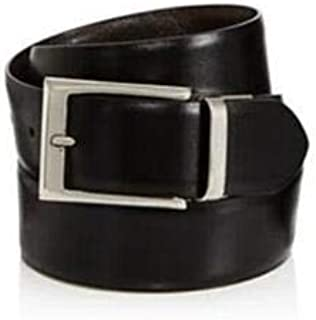 Farrar Reversible Leather Belt - Black