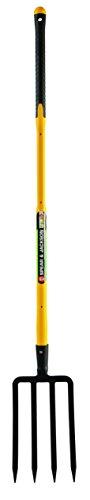 Spear & Jackson 81802 Fourche à bêcher 4 dents avec manche trimatière Pomme 110 cm