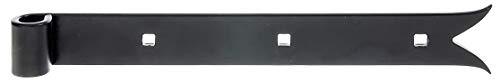 GAH-Alberts 306144 Ladenband | in verschiedenen Ausführungen | schwarz | Rolle Ø14 mm | Größe 300 x 35 mm