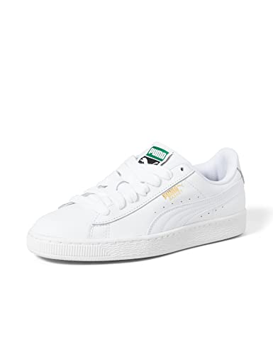 PUMA Herren Basket Classic LFS Sneaker, White-White, 44 EU