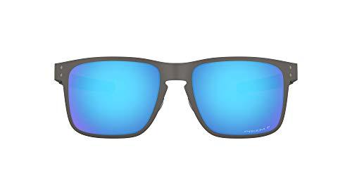Oakley 0OO4123 Gafas de sol, Matte Gunmetal, 55 para Hombre