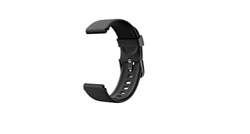 LIFEBEE Pulseras de Repuesto, Correa de Repuesto para Reloj de Actividad física ID205 ID205L ID205U (Negro)