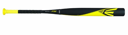 Easton FP14S1 FS1 2-Piece Composite Fastpitch Softball Bat, Black/Yellow, 30-Inch/20-Ounce