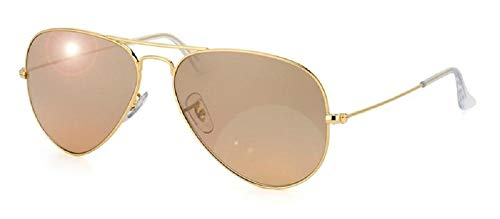 Ray-Ban RB 3025 001/3E - Gafas de sol (metal), color dorado