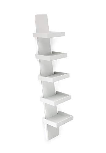 Wink Design, Step, Libreria, Bianco, 160 x 27.5 x 1 cm