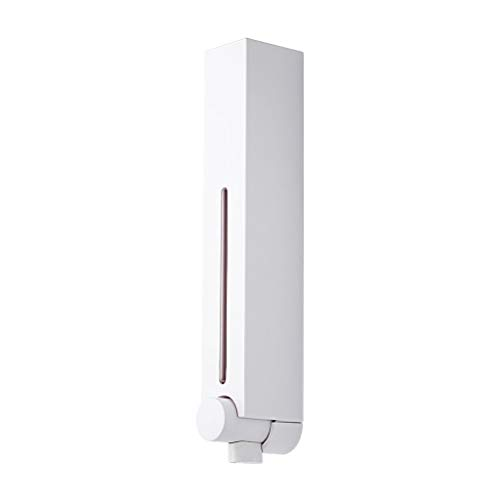LJXLXY Dispensador de Jabón Dispensador de jabón montado en la Pared 250ML / 500ML Manual del baño del Hotel sin Perforaciones Dispensadores de loción y de jabón (Color : White, Size : 500ml-1PACK)