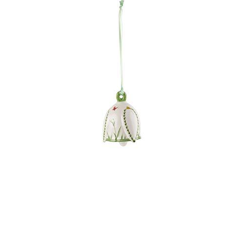 Villeroy & Boch Ornament, Hard Porcelain, Multicoloured, 6,5 cm, Snowdrops