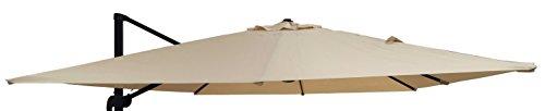 MICHELE SOGARI Telo Ricambio per ombrellone 3x4 a Base decentrata - Colore Beige