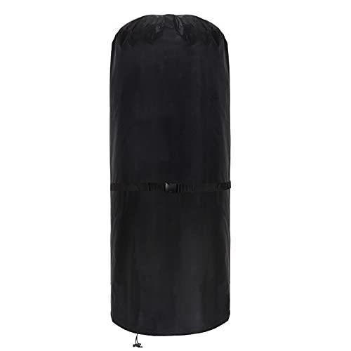 Wetterschutzhülle für Terrassenheizer, Heizstrahler Abdeckung, Patio Heizungsabdeckung Heizstrahler Abdeckung, strapazierfähig reißfest 600D Oxford-Gewebe, rund 50 x 50 x 120 cm