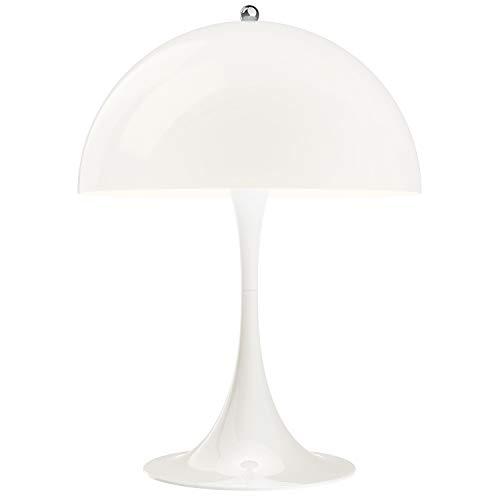 Panthella 320 Table Lamp, Louis Poulsen, Lámpara de Sobremesa Diseñada por Verner Panton (Acrílico Opal Blanco)