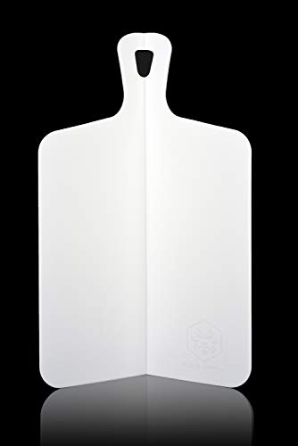 Kessaku Foldable Cutting Board Mat - Non-Slip Ultra Triple Thick 3.5mm Lightweight and Durable, 10.25x15.5-Inches