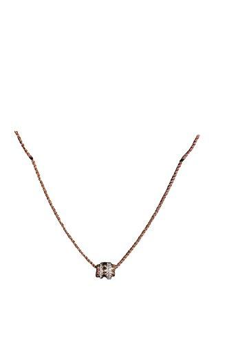 TCM Tchibo Damen Halskette Kette mit Swarovski Kristallen Messing …