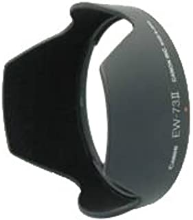 Serounder Lens Hood ABS Mount EW-73Ⅱ Lens Hood Replacement for Canon 24-85mm f3.5-4.5 USM