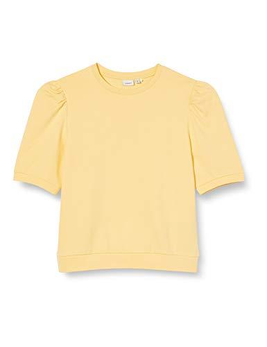 NAME IT Mädchen NKFDAYA 2/4 Sweat UNB Pullover, Golden Haze, 116