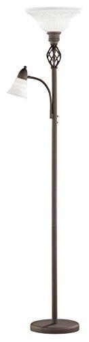 Trio Leuchten LED Stehleuchte Rustica 4602021-24, Metall rostfarbig, exkl. 1x E27