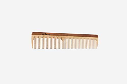 KostKamm - Pettine per parrucchieri, in legno, 18 cm