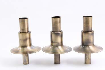 Flaschenkerzenhalter Kerzenhalter 3er Set (Farbe: Bronze)