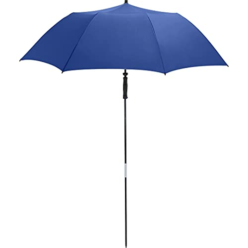 FARE Reise-Sonnenschirm Travelmate Camper UV Schutz 50+ TÜV-Zertifikat für Koffer Camping Reise Balkon Strand Garten (Blau)