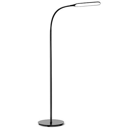 Govee Led Floor Lamp, Standing Lamp with 4 Color Temperatures Brightness Levels, Dimmable Modern Standing Lamp with Adjustable Gooseneck, for Reading, Living Room, Bedroom, Piano, Painting