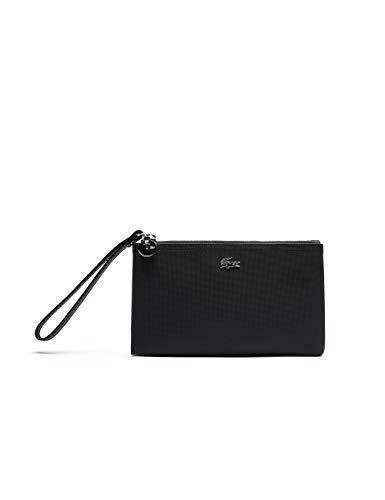 Lacoste NF3423DC, Clutch para Mujer, Noir, Taille Unique
