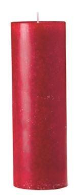 Bordeaux Bougie Cylindre 80 x 50 mm, 24 pcs Bougies