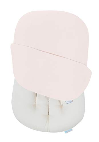 Snuggle Me Organic | Baby Lounger & Infant Floor Seat | Newborn Essentials | Organic Cotton, Fiberfill | Sugar Plum