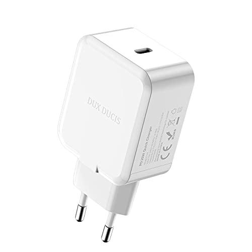 GQFDBS 25W USB-C Ladegerät Typ-C Netzteil Power Adapter Ladestecker kompatibel mit iPhone 13, 13 Pro,13 Pro Max, 13 Mini, 12, 12 Pro, 12 Mini, 12 Pro Max, SE 2, X, iPad Mini 6 (Weiß)