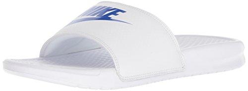 Nike 343880 102 Benassi Badeslipper Weiss|42,5