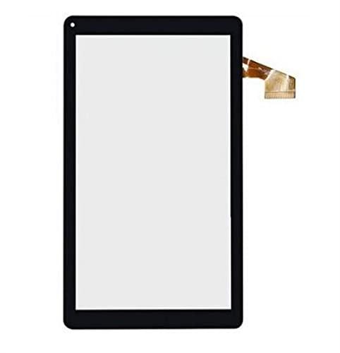 WANGYAN1886 Remplacement d'écran Écran Tactile pour 10.1'DANEW DSlide 1013QC MPMAN MP11OCTA MIDK147P Panneau Tactile Capteur de Verre de numériseur (Color : Black)