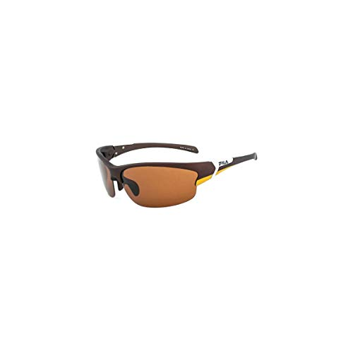 Fila SF-218-PBRW Gafas, MATT BROWN-/BROWN, 69/14/130 Unisex Adulto