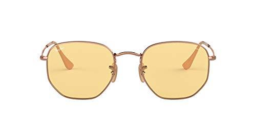 Ray-Ban 91310Z Gafas de sol, Copper, 50 para Hombre