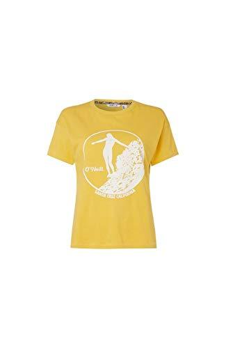 O'NEILL LW Olympia Camiseta de Manga Corta, Mujer, Amarillo (Golden Rod), XS