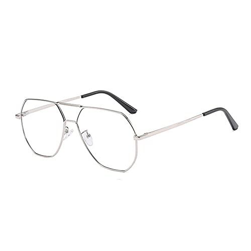 EYEphd Gafas de Lectura de luz Anti-Azul de Enfoque múltiple Progresivo Inteligente, computadora antifatiga con Puente de Nariz Doble RETR Lector de Aumento +1.0 a +3.0,03,+2.25