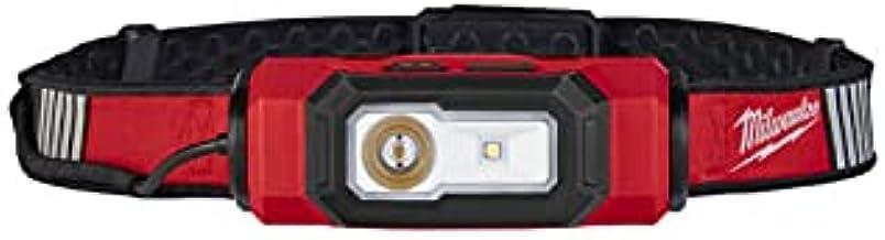 Milwaukee L4 HL-VIS-201 LED Hoofdlamp - Oplaadbaar - 600Lm - IP54