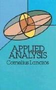 Lanczos, C: Applied Analysis (Dover Books on Mathematics)