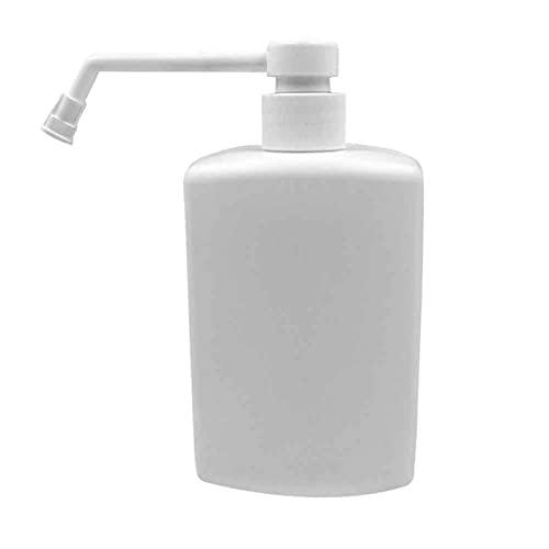 Botella de espray vacía de 500 ml, botella vacía de agua de maquillaje de boquilla larga, botella de spray de niebla fina para belleza de cabello, aceite esencial de agua, cocina y baño