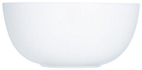 Luminarc D7410 Saladier 21 cm-Diwali, Opale-Verre trempé, Blanc