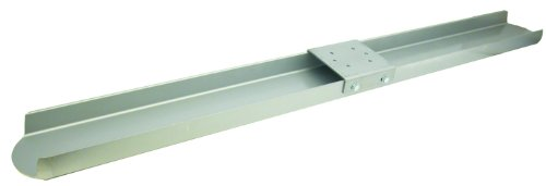 MARSHALLTOWN The Premier Line CB60DE 60-Inch Double Edge Magnesium Channel Bull Float with Round End