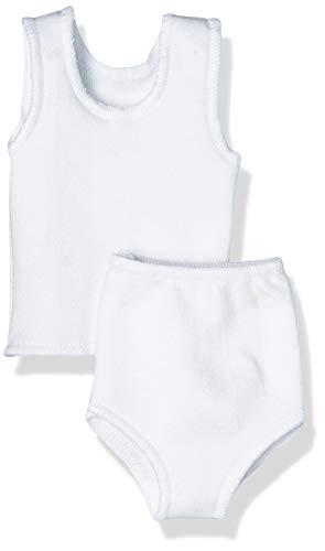 Puppenmode Sturm 1041-1 Jersey-Unterwäsche für Puppen, Weiß