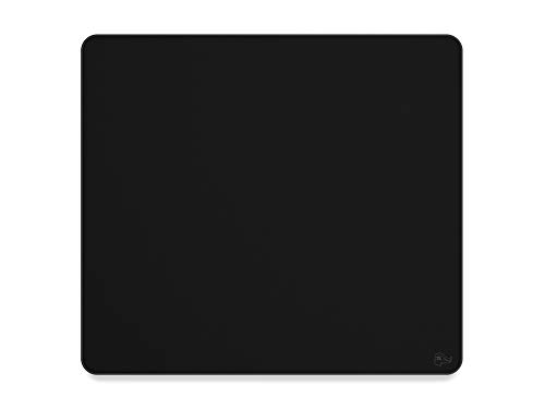 Glorious XL Heavy Gaming Mouse Mat / Pad - Stealth Edition - Extra 5mm Thick , Stitched Edges, Black Cloth Mousepad | 16'x18' (G-HXL-Stealth)