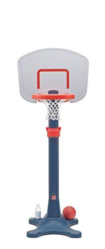 Step2 Shootin' Hoops Junior Basketball Pro Set   Basketballständer für Kinder   Höhenverstellbarer Basketballkorb 122-183 cm