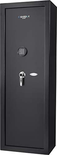 BARSKA AX13328 Digital Keypad 14 Position Rifle Security Safe 7.87 Cubic Ft, Black