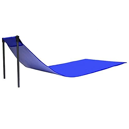 Amusingtao Strandmatte, klappbarer Liegestuhl, tragbare Camping-Klapp-Lounge-Stuhlmatte mit Verstellbarer Rückenlehne,wasserdicht, leicht, Laden Sie bis zu 150kg
